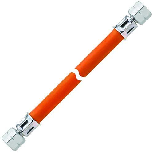GOK Schlauchleitung Mitteldruck 6, 3 mm G 3/8 Ü M x G 3/8 Ü M 3, 0 m 04 504 00 Propangasschlauch
