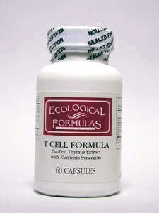 Ecological Formulas - T Cell Formula 60 caps [Health and -