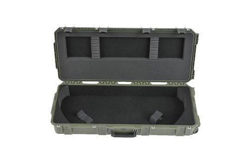 SKB Sports iSeries Parallel Limb Bow Case, 35 x 14 x 5-Inch, Olive