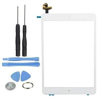Hedywei Ersatz Digitizer Touchscreen f/ür Apple iPad 2 Frontscheibe Anzeige mit Home Button und Werkzeuge Wei/ß