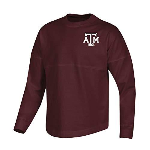 - Champion Girls Texas A&M Aggies Oversized Spirit Fan Jersey Shirt (Small)