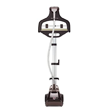 Rowenta IS6300 Master Valet Full Size Garment and Fabric Steamer with Roll and Press Support, 1550-Watt, Brown