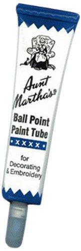 Aunt Martha's Ballpoint Paint Tubes 1 Ounce-Navy