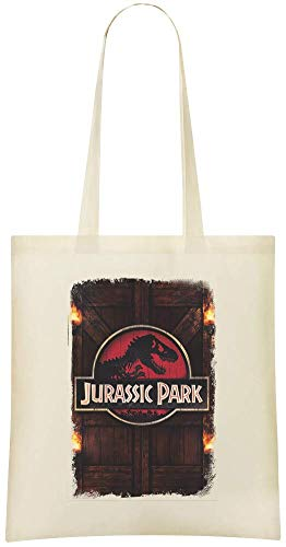 Park Printed jurassique Soft Everyday Shoulder Bag Custom Bags Eco 100 amp; Jurassic Custom Stylish For parc Cotton Grocery Friendly Use Tote Handbag qECIwzd