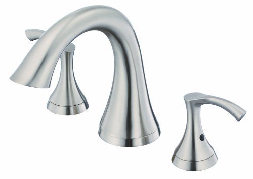 Danze D300922BNT Antioch Two Handle Roman Tub Trim Kit, Brushed Nickel, Valve Not Included