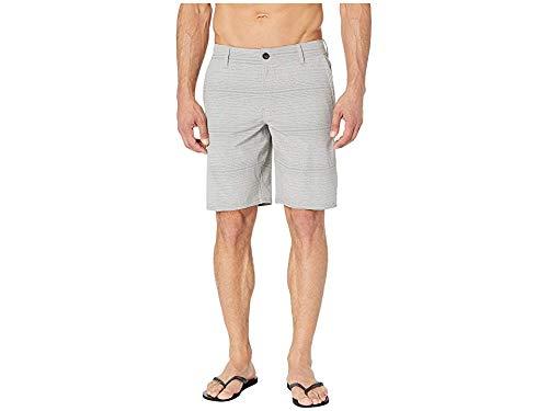 O'Neill Men's Locked Stripe Walkshorts Light Grey 33