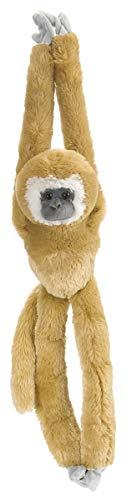 Wild Republic White Handed Gibbon Plush, Monkey Stuffed Animal, Plush Toy, Gifts for Kids, Hanging 20 Inches