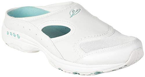 Easy Spirit Women's, Instep 2 Sport Clogs White 9 M ()