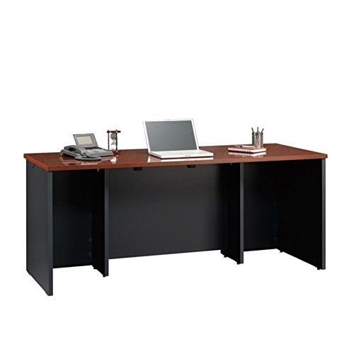 Sauder Via Executive Desk in Classic Cherry