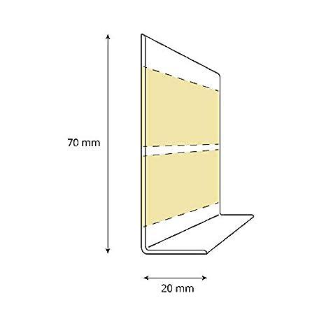 25 Meter Material: PVC 70x20mm HOLZBRINK Weichsockelleiste selbstklebend Grau Knickleiste