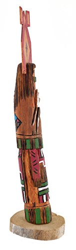 Retail Tag $180 Handmade Authentic Hopi Long Hair Feather Dancer Native American (Dancer Kachina)