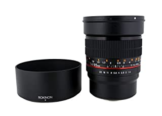Rokinon 85M-MFT 85mm F1.4 Ultra Wide Lens for Micro Four-Thirds Mount Fixed Lens for Olympus/Panasonic Micro 4/3 Cameras (B00HAF120K) | Amazon Products