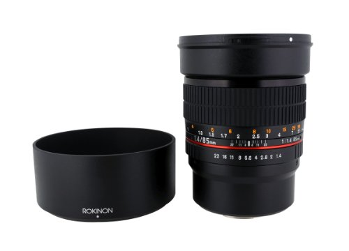Rokinon 85M-MFT 85mm F1.4 Ultra Wide Lens for Micro Four-Thirds Mount Fixed Lens for Olympus/Panasonic Micro 4/3 Cameras (Best Micro 4 3 Camera)