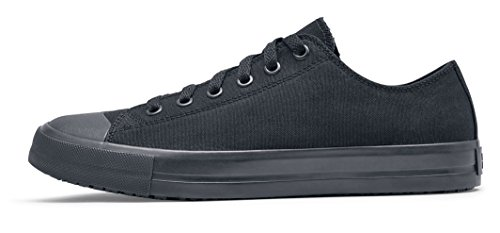 Slip 45 38852 Men's 10 Resistant for Shoe UK DELRAY Casual 10 Crews Black Canvas Shoes Size qgvTptw