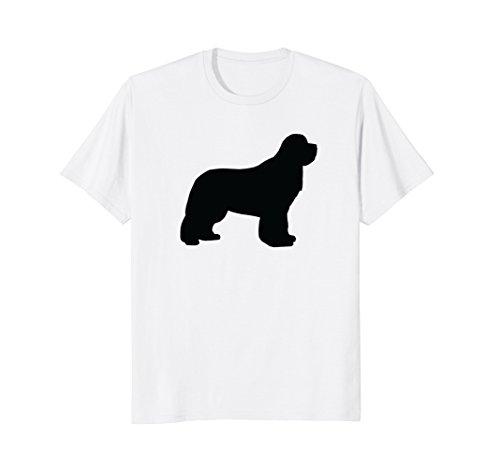 Minimalist Newfie Shirt - Newfoundland Dog T-Shirts