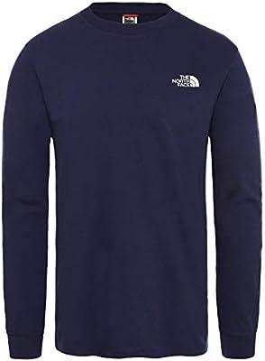 The North Face M LS Simple Dome - Camiseta para Hombre, Hombre ...