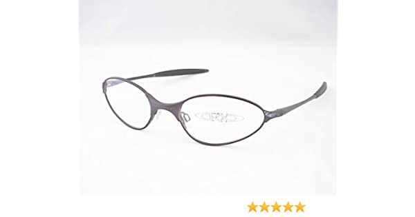 a60fd79546 Amazon.com  Oakley C-Wire Eyeglasses Rx Frames Dark Carbon New  Health    Personal Care