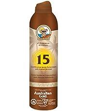 Australian Gold Spf 15 Continuous Spray With Bronzer, Spf 15, Coco Dreams, 177 milliliters