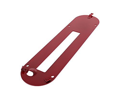 - Porter Cable PCB270TS Table Saw Replacement Throat Plate # 5140097-89