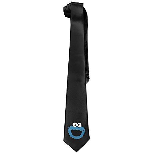 [Ggift Cartoon Eyes Men's Fashion Business Solid Necktie Neck Tie] (Bulma Costume)