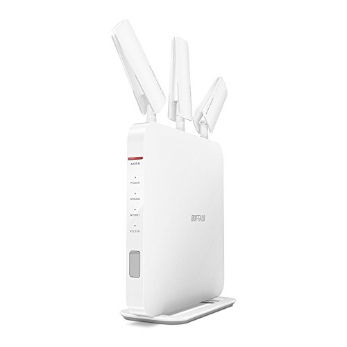 BUFFALO [iphone6 ??correspondence] 11ac / n / a / b / g wireless LAN base unit (Wi-Fi router) air station AOSS2 high power Giga 1GHz dual-core CPU equipped with 1300 + 600Mbps WXR-1900DHP (use recommended environment six ? 4LDK ? 3-story) (Giga Circle)