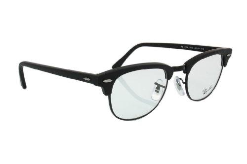 Ray Ban Clubmaster RX5154-77 Rx Ready Eyeglasses, Black/Demo Lens (Ray Ban Men Glasses)