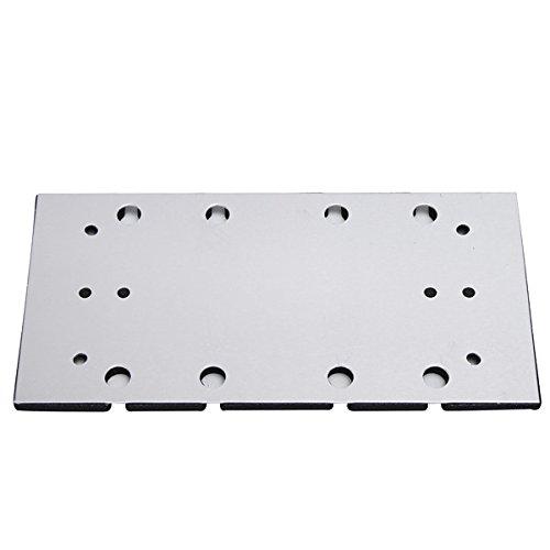 ChaRLes Sander Basisplatte Backing Pad F/ür Makita Bo3700 Bo3710 Bo3711 Sander Ersatzteil