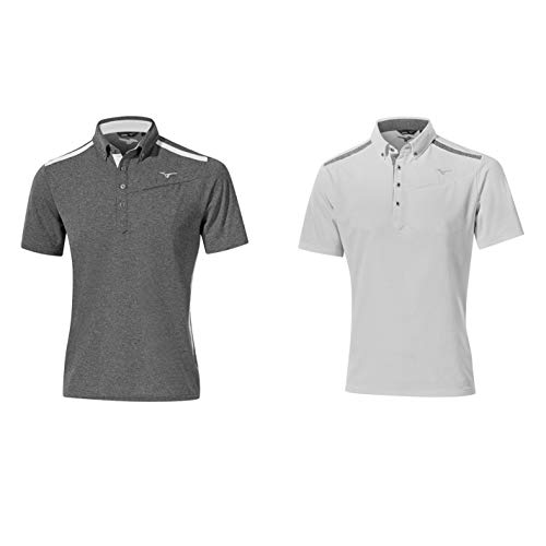 T-shirts, polos et chemises Mizuno s Breath Thermo Longues Polo pour Homme Polos
