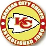 Kansas City Chiefs Circle Pin - est. 1960