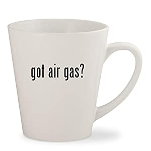 got air gas? - White 12oz Ceramic Latte Mug Cup