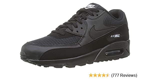 quality design 774f3 39cb3 Amazon.com | Nike Men's Air Max 90 Essential Low-Top Sneakers | Road ...