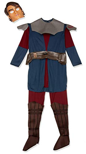 Rubie's Star Wars Clone Wars Child's Deluxe Anakin Skywalker Costume and Mask, -