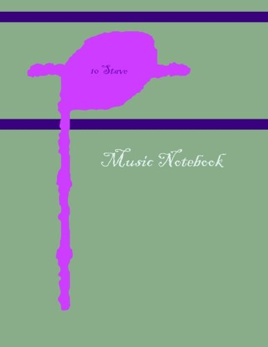 Download Music Notebook: 10 Stave PDF