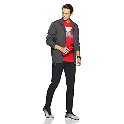 Under Armour Men's Sportstyle Woven Full Zip Jacket: Clothing