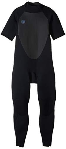 O'Neill Men's O'riginal 2mm Back Zip Short Sleeve Full Wetsuit, Black/Black, XX-Large
