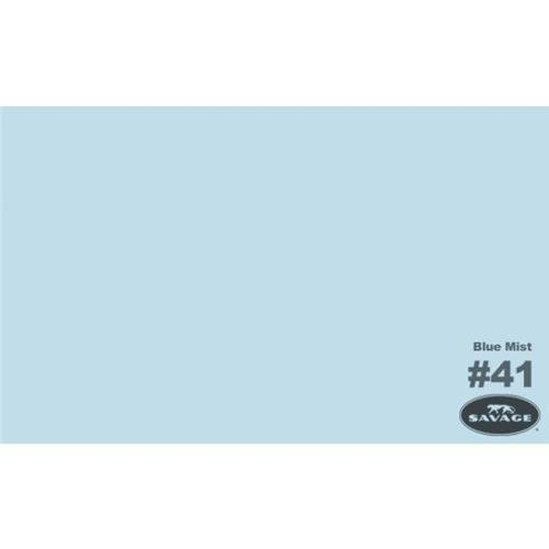 Savage Widetone Seamless Background Paper 107' x 12 yds - Blue Mist 41-12