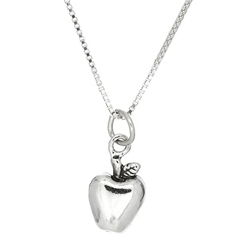 CS-DB Jewelry Silver Genuine Pearl Bowknot Chain Charm Pendants Necklaces