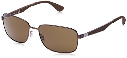 Sonnenbrille Ray 3529 RB Matte Brown Dark Ban RwgZwFnq5