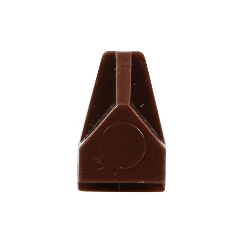 100 Pack Rok Hardware 5mm Brown Shelf Support Bracket Steel Pin Peg Kitchen Cabinet Book Shelves Holder by Rok (Image #2)