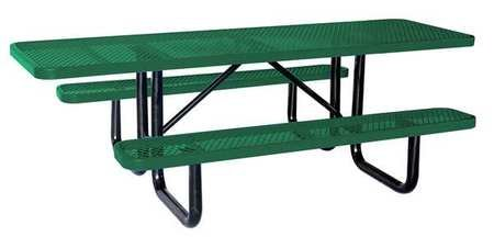 "ADA Picnic Table, 96"" W x62"" D, Green"