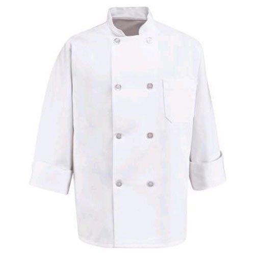 Poly Cotton Phoenix Chef Coat White Basic Style 3X-Large Phoenix Medical Press CC-1XXXL
