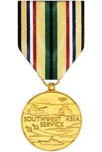 (Medals of America Southwest Asia Service Medal Anodized)