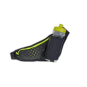 Nike 22oz Large Bottle Running Belt (Gray/Volt)