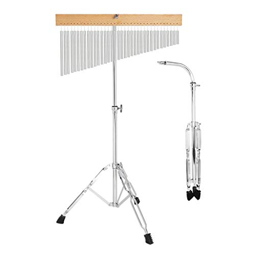 gazechimp 36 Tone Bar Chime Hand-Held Bar Chime with Adjustable Tripod Stand and Stick
