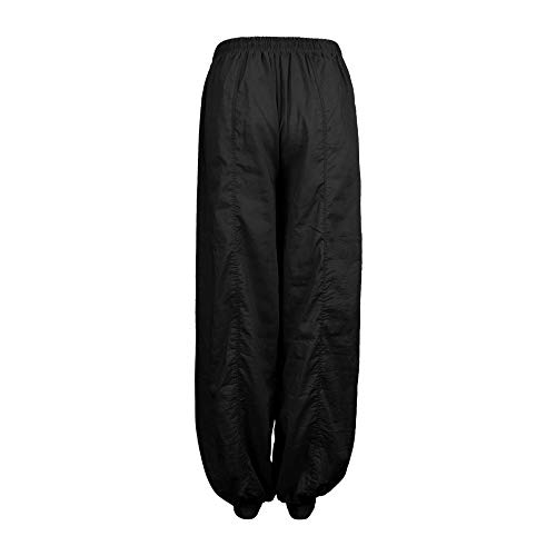 Boho Trousers Trousers Baggy Yoga Polyester Aladdin Loose Black3 Harem Casual Women Xmiral Pants Jumpsuit 58xqUwYBY