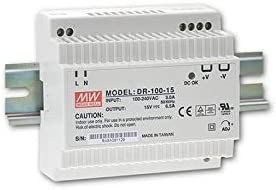 Din-Rail Fuente de alimentación 100W 24V 4,2A ; MeanWell, DR-100-24
