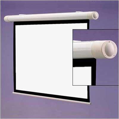 Salara/Series M Matte White Manual Projection Screen Viewing Area: 7' - Series Salara Draper