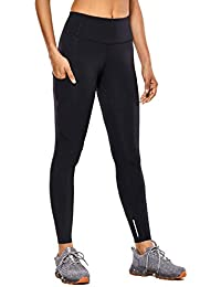 Women's High Waisted Yoga Pants with Pockets Naked Feeling Workout Leggings-25 Inches