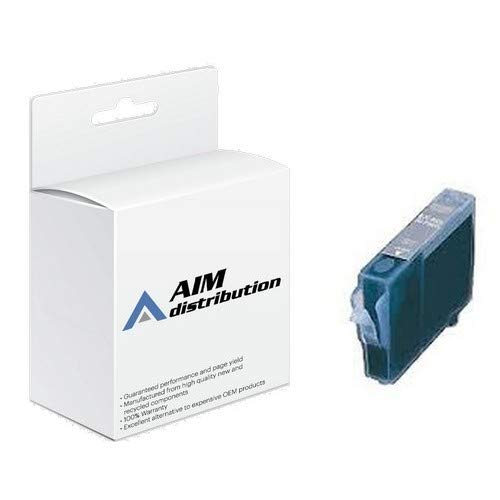 AIM Compatible Replacement for Canon BCI-8C Cyan Inkjet - Generic Bci 8c Cyan Inkjet