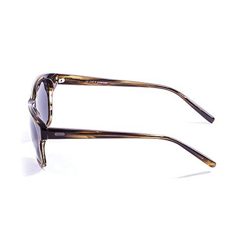 Ocean Sunglasses Taylor Lunettes de Soleil Mixte Adulte, Brown Stained